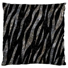 Skin3 Black Marble & Gray Stone Standard Flano Cushion Case (two Sides) by trendistuff
