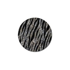 Skin3 Black Marble & Gray Stone (r) Golf Ball Marker (4 Pack) by trendistuff