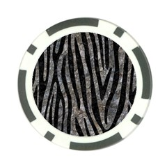 Skin4 Black Marble & Gray Stone Poker Chip Card Guard by trendistuff