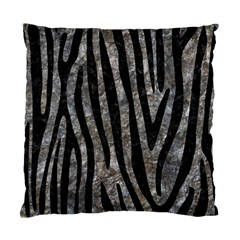 Skin4 Black Marble & Gray Stone Standard Cushion Case (one Side) by trendistuff