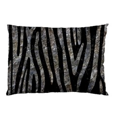 Skin4 Black Marble & Gray Stone (r) Pillow Case (two Sides) by trendistuff