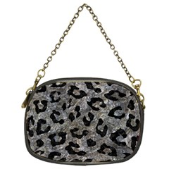 Skin5 Black Marble & Gray Stone Chain Purses (two Sides)  by trendistuff