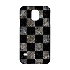 Square1 Black Marble & Gray Stone Samsung Galaxy S5 Hardshell Case  by trendistuff