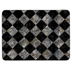 Square2 Black Marble & Gray Stone Samsung Galaxy Tab 7  P1000 Flip Case by trendistuff