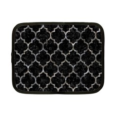 Tile1 Black Marble & Gray Stone Netbook Case (small)  by trendistuff