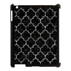 Tile1 Black Marble & Gray Stone Apple Ipad 3/4 Case (black) by trendistuff