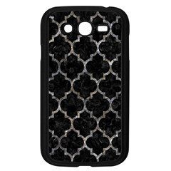 Tile1 Black Marble & Gray Stone Samsung Galaxy Grand Duos I9082 Case (black) by trendistuff