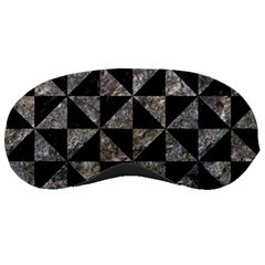 Triangle1 Black Marble & Gray Stone Sleeping Masks by trendistuff