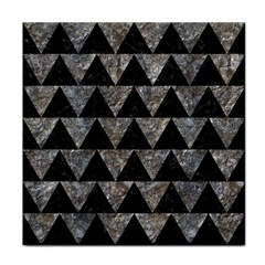 Triangle2 Black Marble & Gray Stone Tile Coasters by trendistuff
