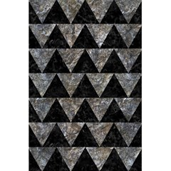 Triangle2 Black Marble & Gray Stone 5 5  X 8 5  Notebooks by trendistuff