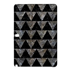 Triangle2 Black Marble & Gray Stone Samsung Galaxy Tab Pro 12 2 Hardshell Case by trendistuff