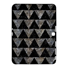 Triangle2 Black Marble & Gray Stone Samsung Galaxy Tab 4 (10 1 ) Hardshell Case  by trendistuff