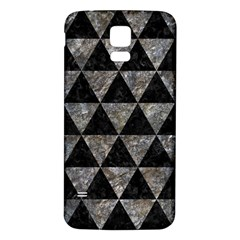 Triangle3 Black Marble & Gray Stone Samsung Galaxy S5 Back Case (white) by trendistuff