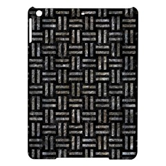 Woven1 Black Marble & Gray Stone Ipad Air Hardshell Cases by trendistuff