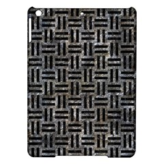 Woven1 Black Marble & Gray Stone (r) Ipad Air Hardshell Cases by trendistuff
