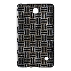 Woven1 Black Marble & Gray Stone (r) Samsung Galaxy Tab 4 (7 ) Hardshell Case  by trendistuff