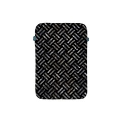 Woven2 Black Marble & Gray Stone Apple Ipad Mini Protective Soft Cases by trendistuff