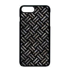 Woven2 Black Marble & Gray Stone Apple Iphone 7 Plus Seamless Case (black) by trendistuff