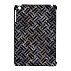 Woven2 Black Marble & Gray Stone (r) Apple Ipad Mini Hardshell Case (compatible With Smart Cover) by trendistuff