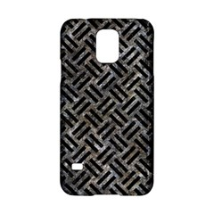 Woven2 Black Marble & Gray Stone (r) Samsung Galaxy S5 Hardshell Case  by trendistuff