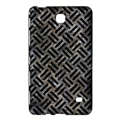 Woven2 Black Marble & Gray Stone (r) Samsung Galaxy Tab 4 (7 ) Hardshell Case  by trendistuff