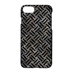 Woven2 Black Marble & Gray Stone (r) Apple Iphone 7 Hardshell Case