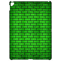 Brick1 Black Marble & Green Brushed Metal (r) Apple Ipad Pro 12 9   Hardshell Case by trendistuff