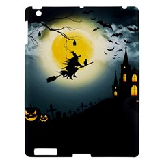 Halloween Landscape Apple Ipad 3/4 Hardshell Case by Valentinaart