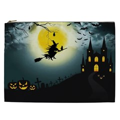 Halloween Landscape Cosmetic Bag (xxl)