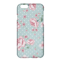 Shabby Chic,pink,roses,polka Dots Apple Iphone 6 Plus/6s Plus Hardshell Case by 8fugoso