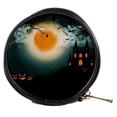 Halloween Landscape Mini Makeup Bags by Valentinaart