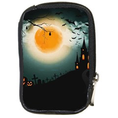Halloween Landscape Compact Camera Cases by Valentinaart