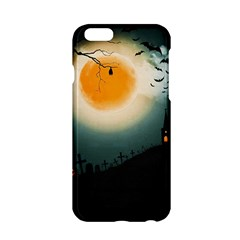 Halloween Landscape Apple Iphone 6/6s Hardshell Case