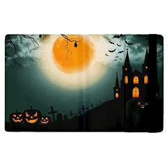 Halloween Landscape Apple Ipad Pro 9 7   Flip Case by Valentinaart