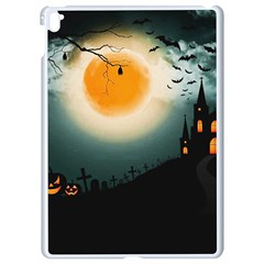 Halloween Landscape Apple Ipad Pro 9 7   White Seamless Case by Valentinaart