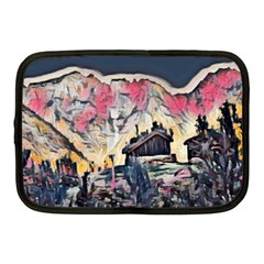 Modern Abstract Painting Netbook Case (medium)  by 8fugoso
