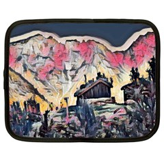 Modern Abstract Painting Netbook Case (large) by 8fugoso