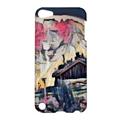 Modern Abstract Painting Apple Ipod Touch 5 Hardshell Case by 8fugoso