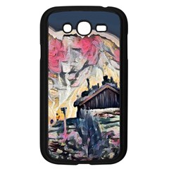 Modern Abstract Painting Samsung Galaxy Grand Duos I9082 Case (black) by 8fugoso