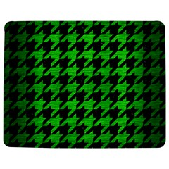 Houndstooth1 Black Marble & Green Brushed Metal Jigsaw Puzzle Photo Stand (rectangular) by trendistuff