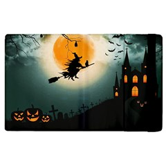 Halloween Landscape Apple Ipad 2 Flip Case by Valentinaart