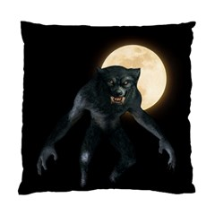 Werewolf Standard Cushion Case (one Side) by Valentinaart