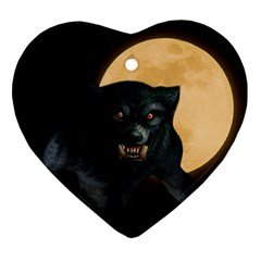 Werewolf Ornament (heart)