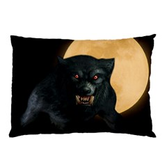 Werewolf Pillow Case by Valentinaart