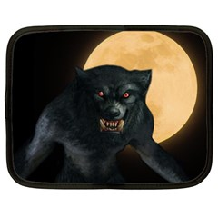 Werewolf Netbook Case (xl)  by Valentinaart