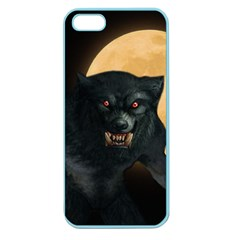 Werewolf Apple Seamless Iphone 5 Case (color) by Valentinaart