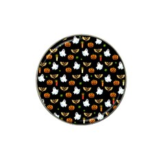 Halloween Pattern Hat Clip Ball Marker by Valentinaart