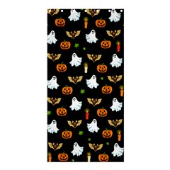 Halloween Pattern Shower Curtain 36  X 72  (stall)  by Valentinaart