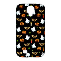 Halloween Pattern Samsung Galaxy S4 Classic Hardshell Case (pc+silicone) by Valentinaart