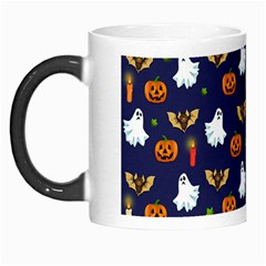 Halloween Pattern Morph Mugs by Valentinaart
